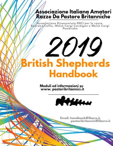 6° Edizione del British Shepherds Handbook Italy 2019